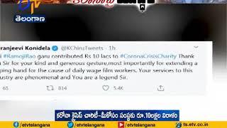 Chiranjeevi extend thanks to media baron Ramoji Rao for do..