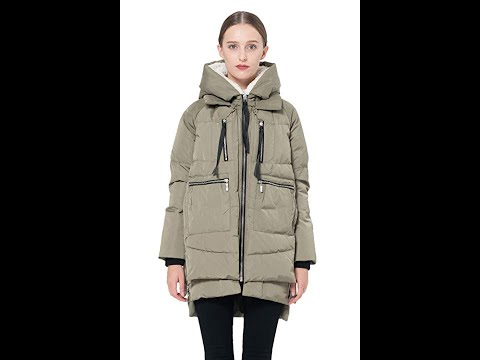 video Orolay Women's Thickened Down Jacket