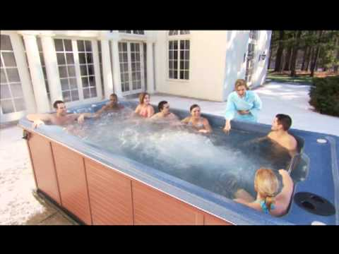 Swimming And Water Exercises In Your Hot Tub Youtube