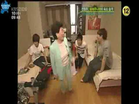 Super Junior YMMN ryeowook and yesungs room cut