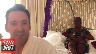 Deadpool Interrupts Hugh Jackman's Birthday Message | THR News