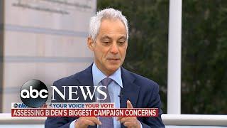 Chris Christie and Rahm Emanuel discuss the election homestretch   ABC News