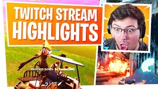 Twitch Stream Highlights - The Best of Marksman Moments - Fortnite and Black Ops 4
