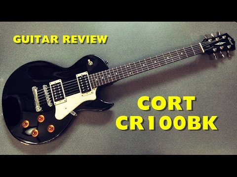 Cort CR100 (Black) Electric Guitar