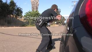 CAUGHT ON TAPE: Officer Shot In The Head During Shootout, El Cajon