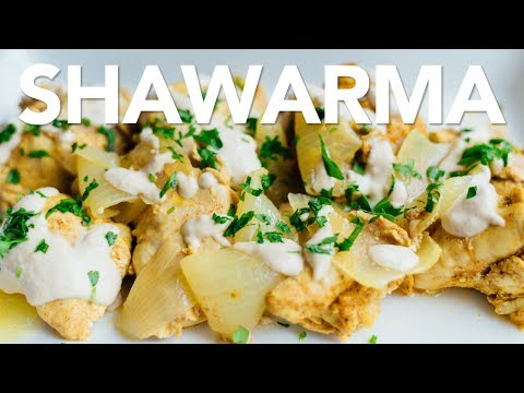 Instant Pot CHICKEN SHAWARMA and BEST HUMMUS!