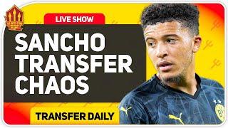 Sancho Transfer Smokescreen! Man Utd Transfer News