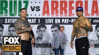 Andy Ruiz Jr. vs. Chris Arreola | WEIGH-INS | PBC ON FOX