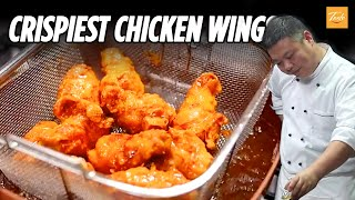 The Crispiest Chicken Wings Recipe with Garlic Honey Lemon • Taste Show