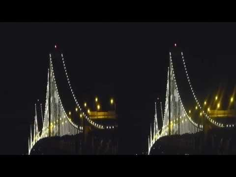 Bay Lights Labor Day 3D (YT3D:Enable=True)