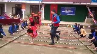 Nhảy sạp hay nhất - nhạc nhảy sạp - nhạc tây bắc hay nhất - THPT Hòa Bình Lạng Sơn