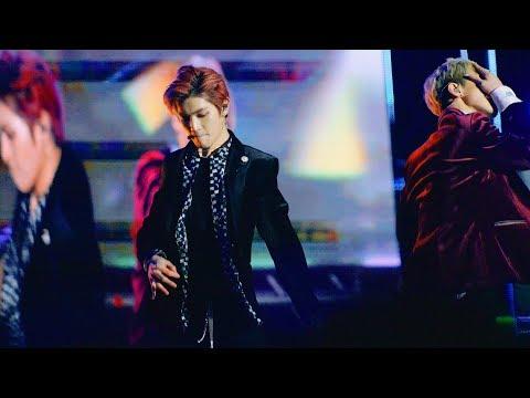 NCT U (엔시티 유) 태용 -  Baby Don't Stop @180224 강릉 원주대[4k Fancam/직캠]