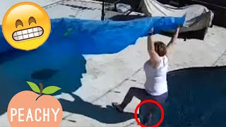 DUMBEST Moments Caught On Security Camera 📷 | Hilarious Security Cam Fails