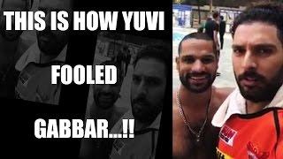 IPL 10: Shikhar Dhawan pranked by Yuvraj Singh ahead of Hy..