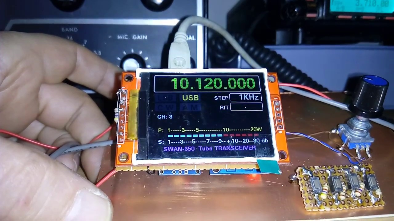TFT DDS/VFO
