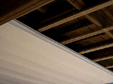 Under Deck Ceiling Systems Youtube