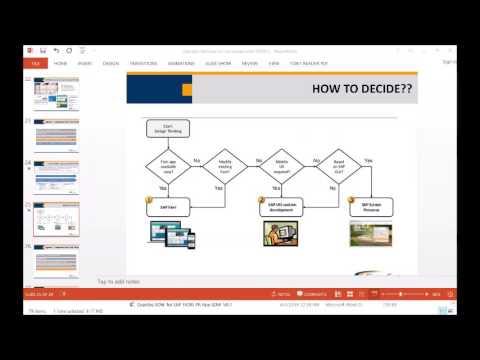 Jumpstart Fiori within your Existing SAP Platform - Part IV