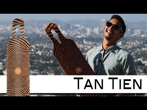 Video LOADED BOARD Deck TAN TIEN - FLEX 3