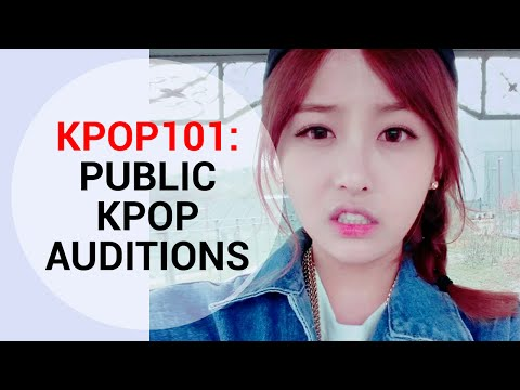 [KPOP 101] KPOP Audition Process Part 2 : Public Kpop Auditions | Wishtrend