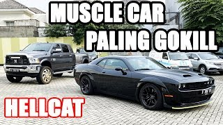 "MINI REVIEW DODGE CHALLENGER SRT HELLCAT INDONESIA | "" REDEYE WIDEBODY"" VLOG #212"