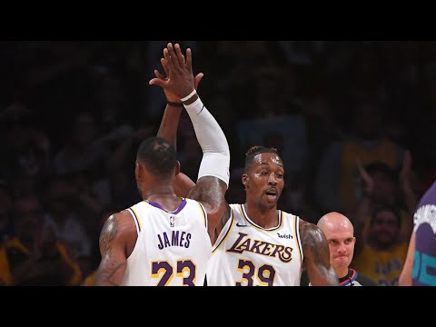 Dwight Turns Back the Clock as Lakers Handle the Cavs