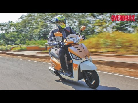 Mahindra Gusto 125 - First Ride Review