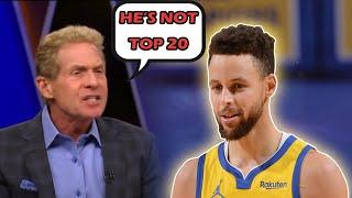 Skip Bayless HATES Steph Curry...