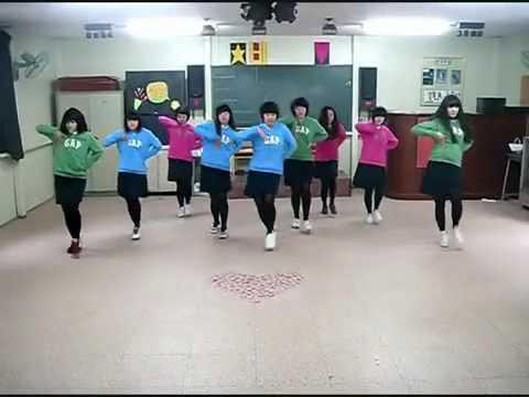 SNSD - Chocolate Love Dance steps by the B.Girls
