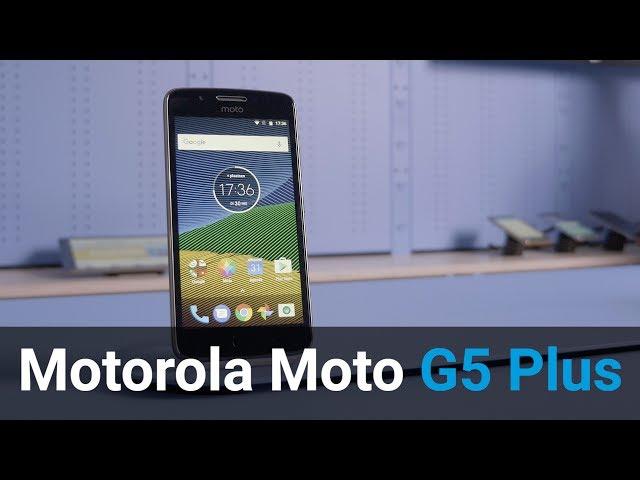 Belsimpel.nl-productvideo voor de Motorola Moto G5 Plus