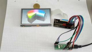 D042 - 7 inch TFT LCD Module SSD1963 800x480 - RDIoT DEMO