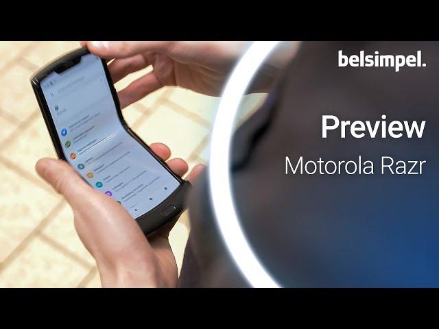 Belsimpel-productvideo voor de Motorola Razr