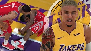 NBA 2K18 MyCAREER - J.Harden PASSED OUT! DeShawn DESTROYS Clint AND Harden!