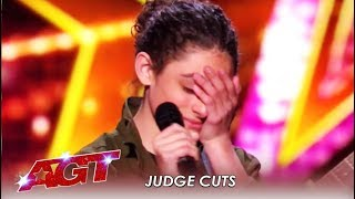 Benicio Bryant: Teen Singer Gets EMOTIONAL After Slaying Original Song! | America's Got Talent 2019