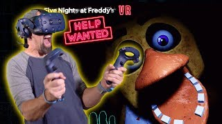FNAF IN VR IS SO SCARY!! | Five Nights At Freddy's VR: Help Wanted