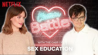 Flirting with British Accents: Sex Education   Charm Battle   Netflix