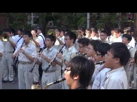 日本高校訪問建國中學_CKMB 30演奏高校校歌part2_20121004
