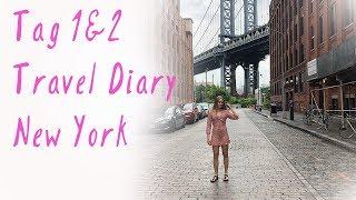 Reise VLOG I Travel Diary // NEW YORK 2018 Tag 1&2 // Charlie XD