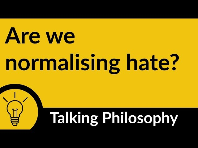"Jenny Saul ""Are we normalising hate?"""