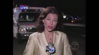 Eyewitness News at 11:00 p.m. on September 11, 2001.