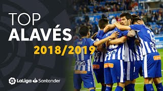 TOP Goles Deportivo Alavés LaLiga Santander 2018/2019