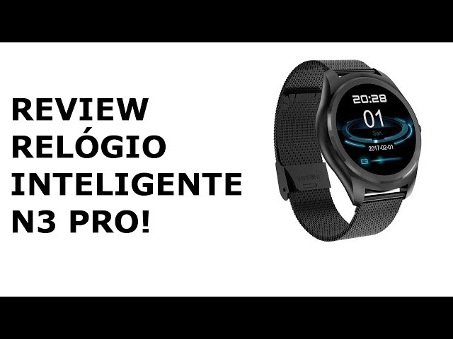 RELÓGIO INTELIGENTE N3 PRO REVIEW