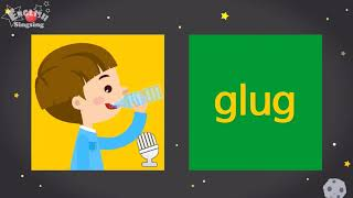 """Kids vocabulary compilation ver.2 - Words Cards starting with G, g - Repeat after """"Ting (sound)"""""""
