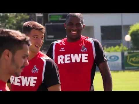Der 1. FC Köln ist im Trainingslager im Burgenland.