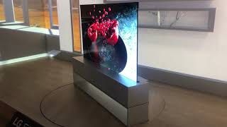 LG Signature OLED TV R in Action