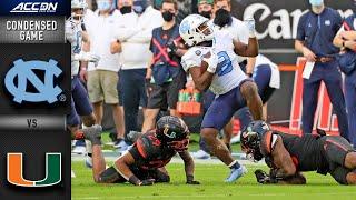 North Carolina vs. Miami Condensed Game   2020 ACC Football