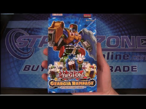 Yugioh Geargia Rampage Structure Deck Opening / Review