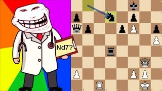 """Magnus """"The Doctor"""" Carlsen   Lichess Titled Arena, May 2019"""