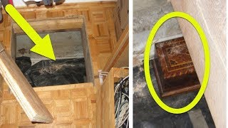 He Finds This Box Hidden Inside A Trap Door In His Closet  What's Locked Inside Unbelievable!