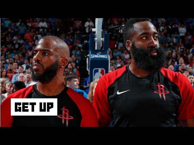 NBA/澄清火箭拆夥傳聞 哈登:我跟小保羅很好