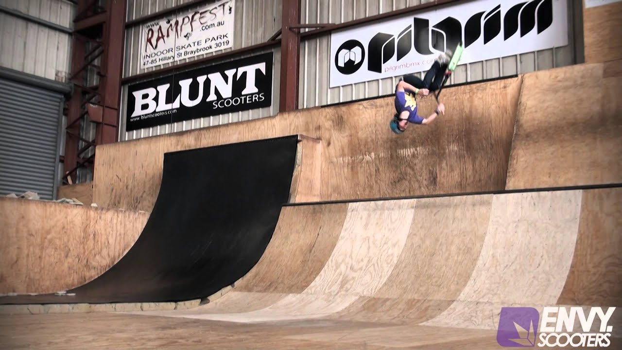 Brendon Smith | Envy Scooters Web Edit - YouTube